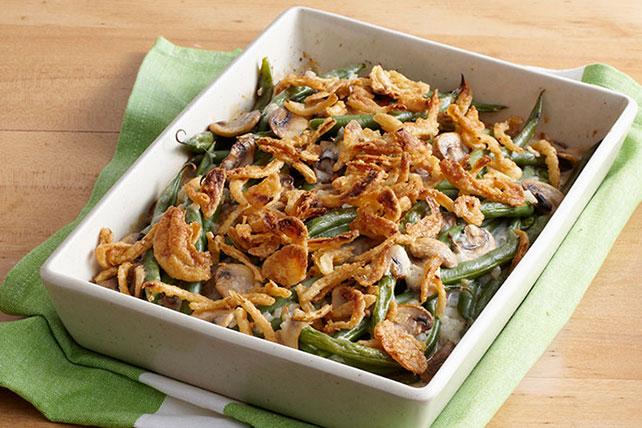 Green Bean Casserole with Mushrooms