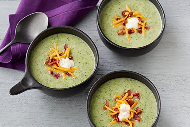 Cream of Broccoli, Bacon & Potato Soup