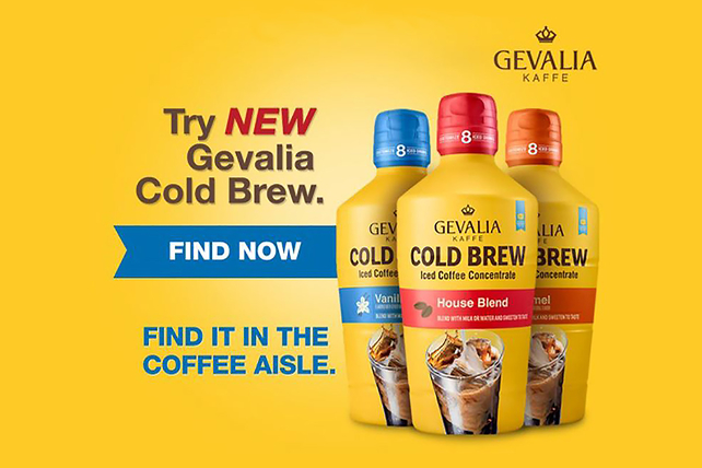 GEVALIA Peanut Butter-Caramel Mocha Milkshake