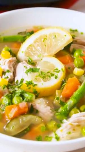 Spring Chicken Soup